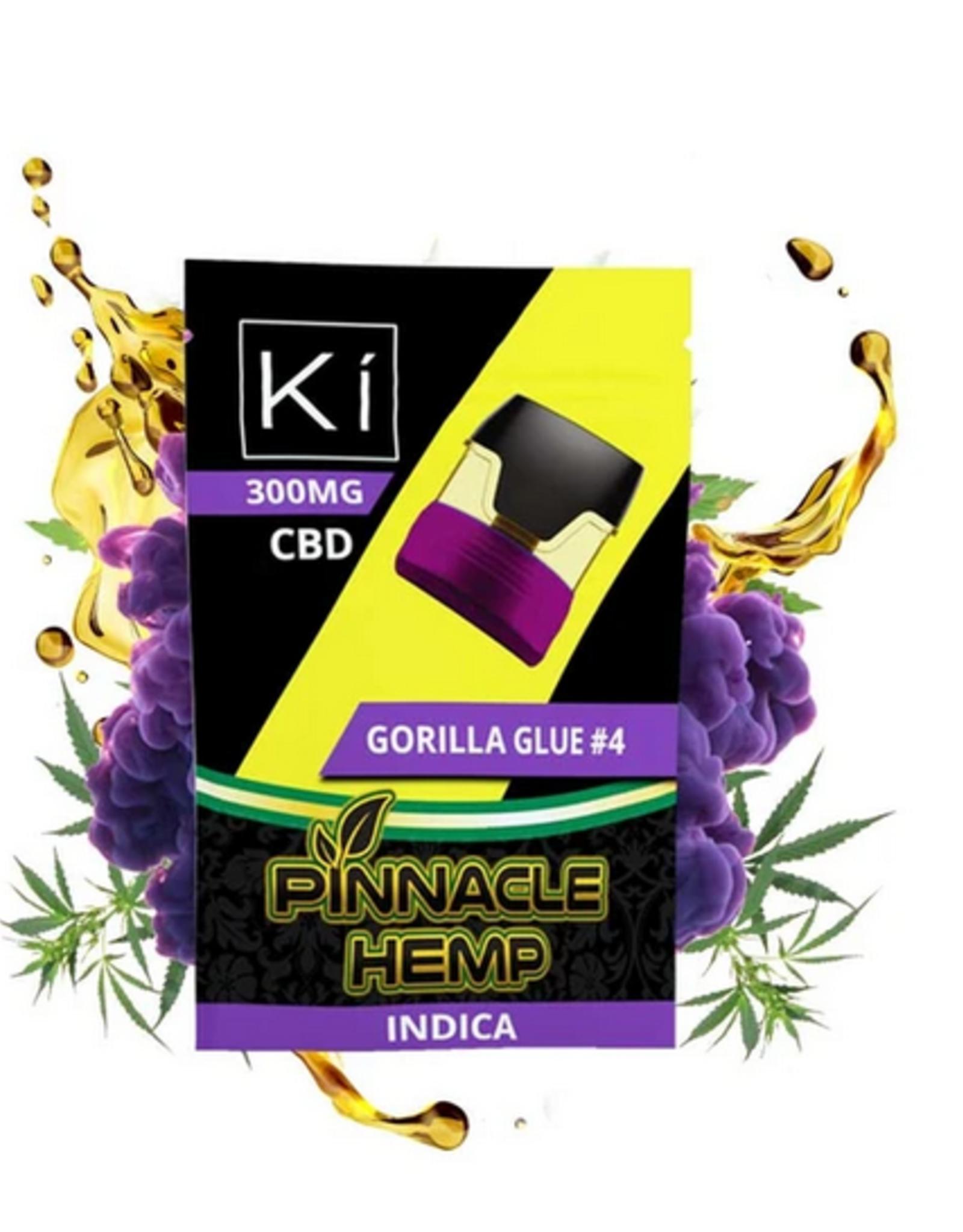 Pinnacle Hemp Full Spectrum Gorilla Glue#4 Ki Pod, Indica 300mg