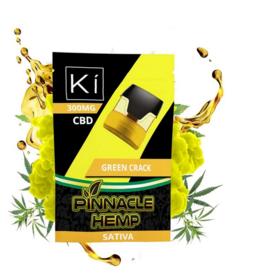 Pinnacle Hemp Full Spectrum CBD Green Crack Ki Pod, Sativa 300mg