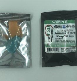 Best CBD Wellness Broad Spectrum CBD Gummies 2 Pack SAMPLE SIZE