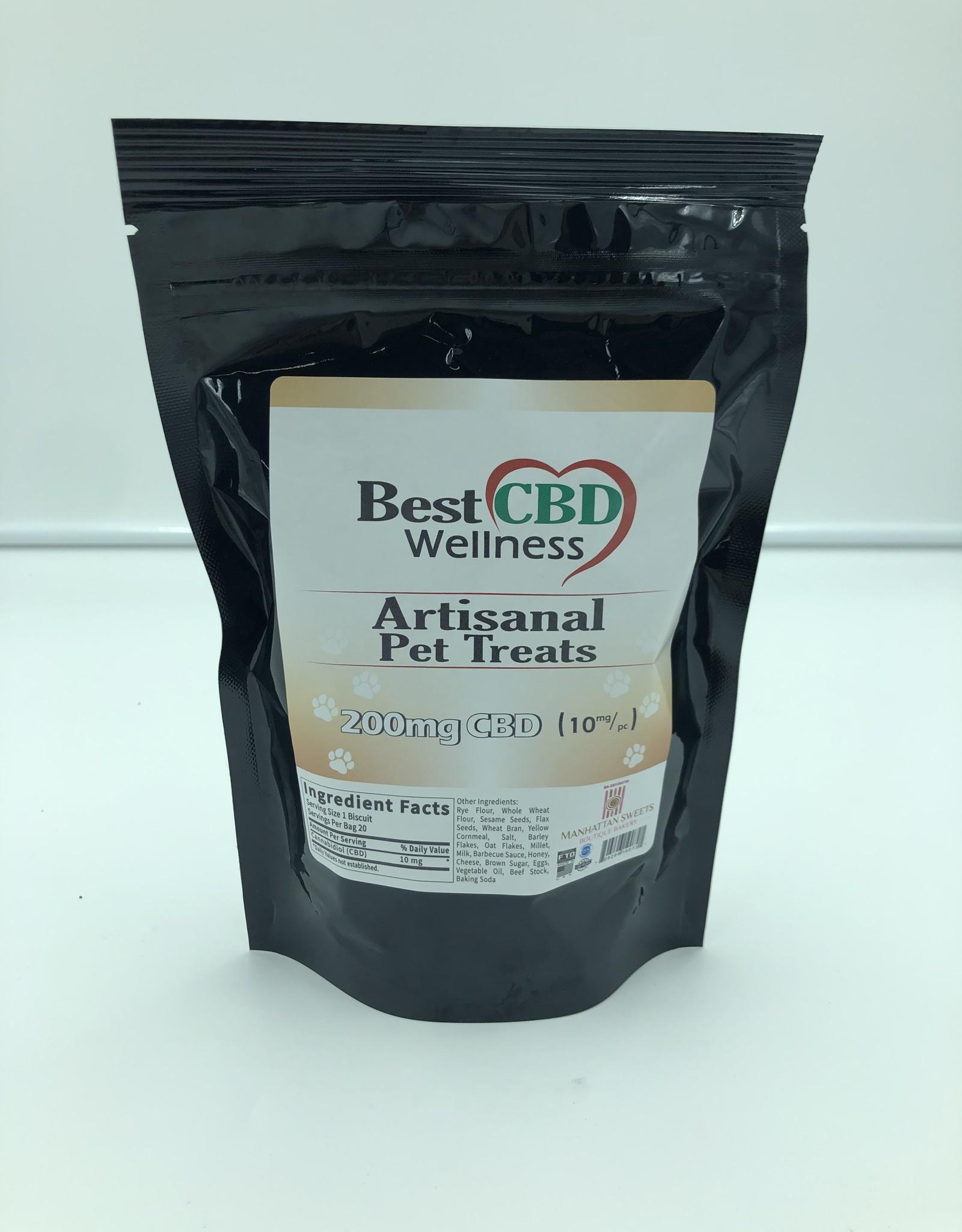 Best CBD Wellness CBD Artisanal Pet Treats 200mg / 20 Treats