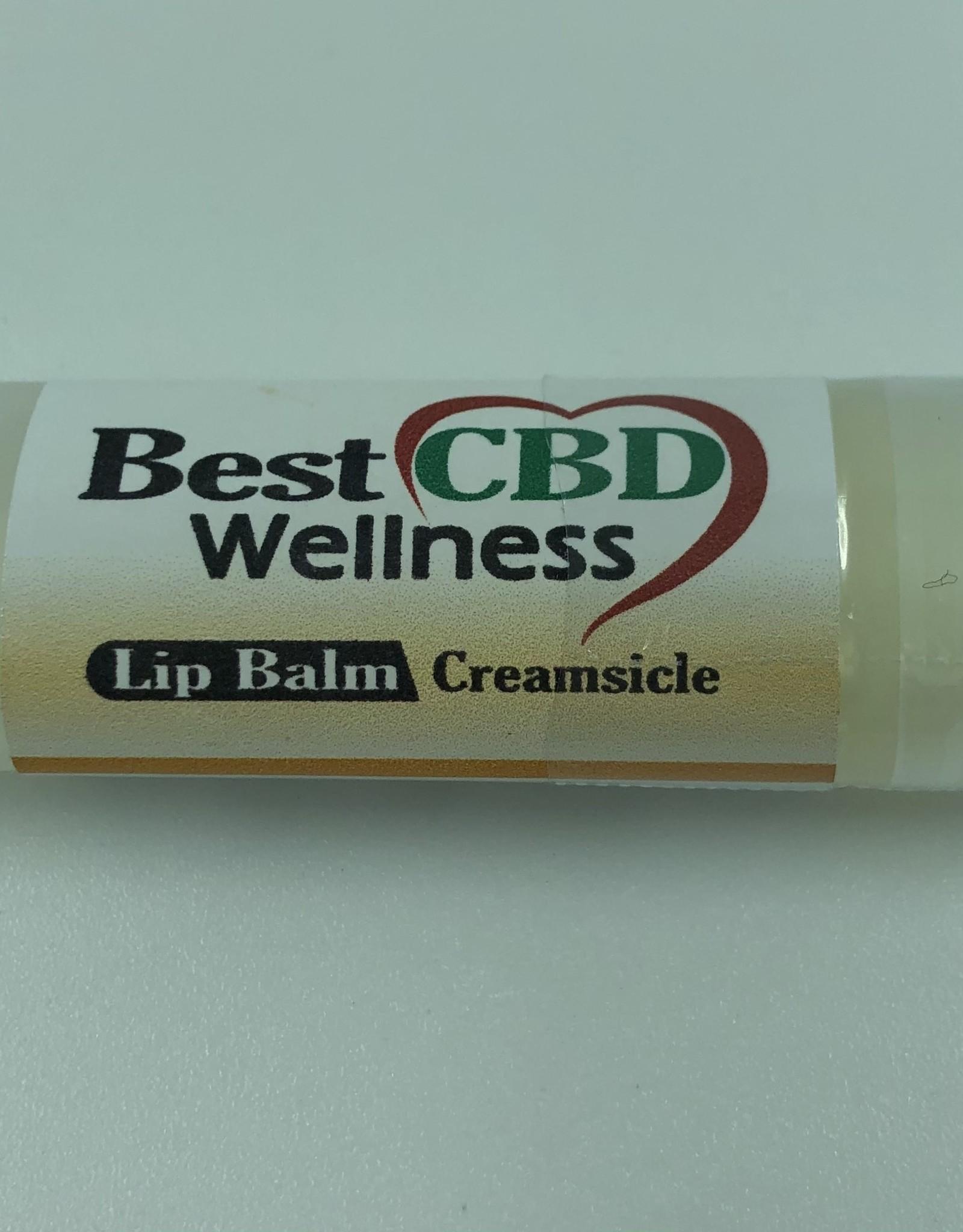 Best CBD Wellness Isolate CBD Creamsicle Lip Balm 50mg