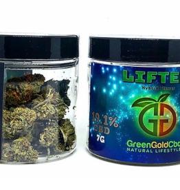 Green Gold CBD CBD Flower Lifter, 7g 19.1% CBD
