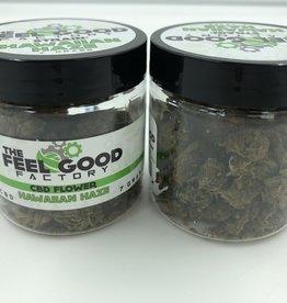 The Feel Good Factory CBD Flower Hawaiian Haze, 7g 15%