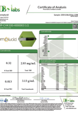 Hemplucid Whole Plant CBD Roxy Pets 100mg Chicken Flavor