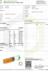 CBD For The People Full Spectrum CBD Strawnana Uncut Wax Cartridge, 300mg, Hybrid X1