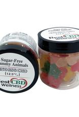 Best CBD Wellness Isolate CBD Sugar Free Gummies 250mg 12.5mg/20pc