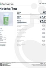 CBD Living Full Spectrum CBD Matcha Tea 150 mg/15 mg