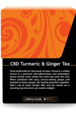 CBD Turmeric and Ginger Tea