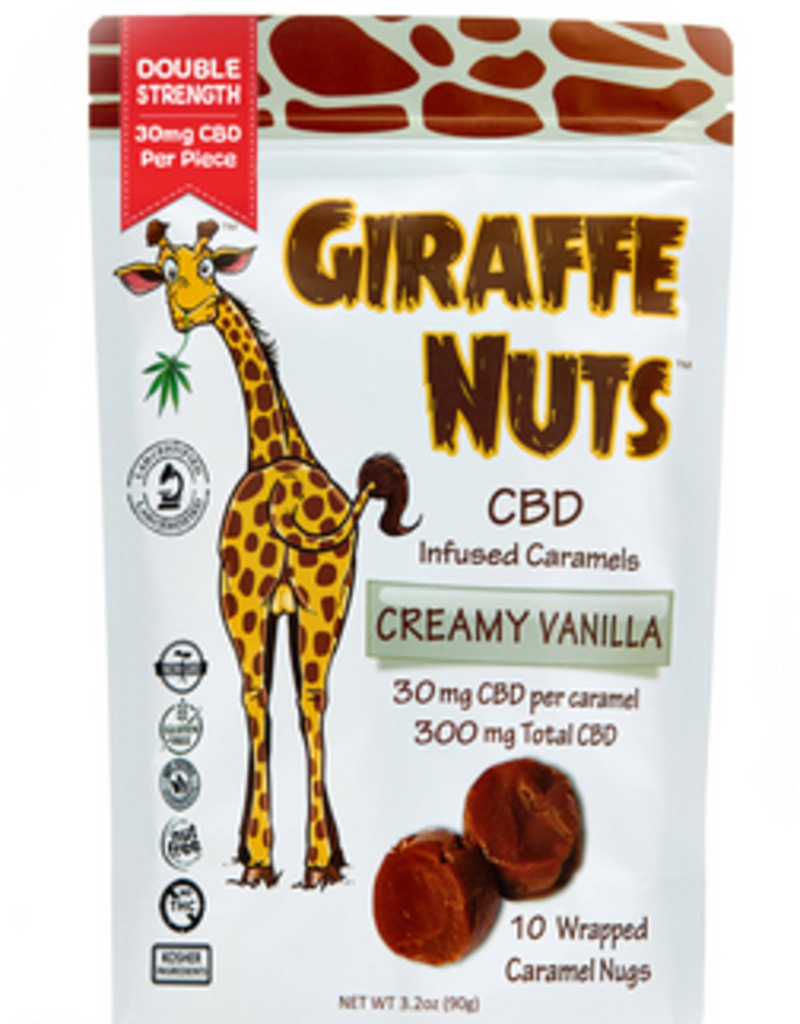 Lions Brand CBD CBD Giraffe Nuts Creamy Vanilla 300mg