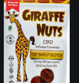 Lions Brand CBD CBD Giraffe Nuts Top Shelf Scotch 300mg