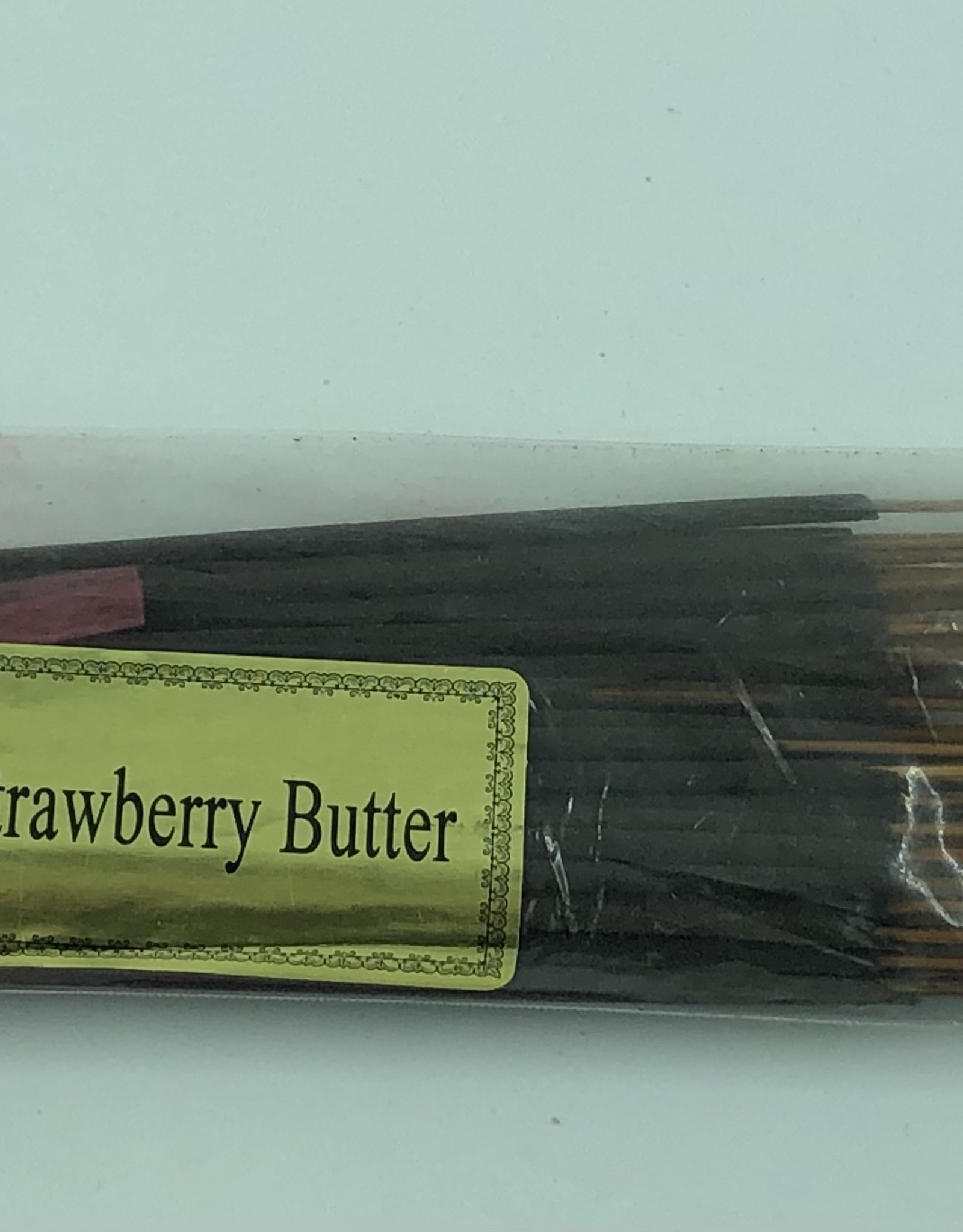 Strawberry Butter Hand Dipped Incense