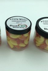 Best CBD Wellness Isolate CBD Peach Rings 750mg 30 pc/25mg ea