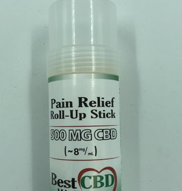 Best CBD Wellness CBD Pain Relief Roll Up Stick 500mg