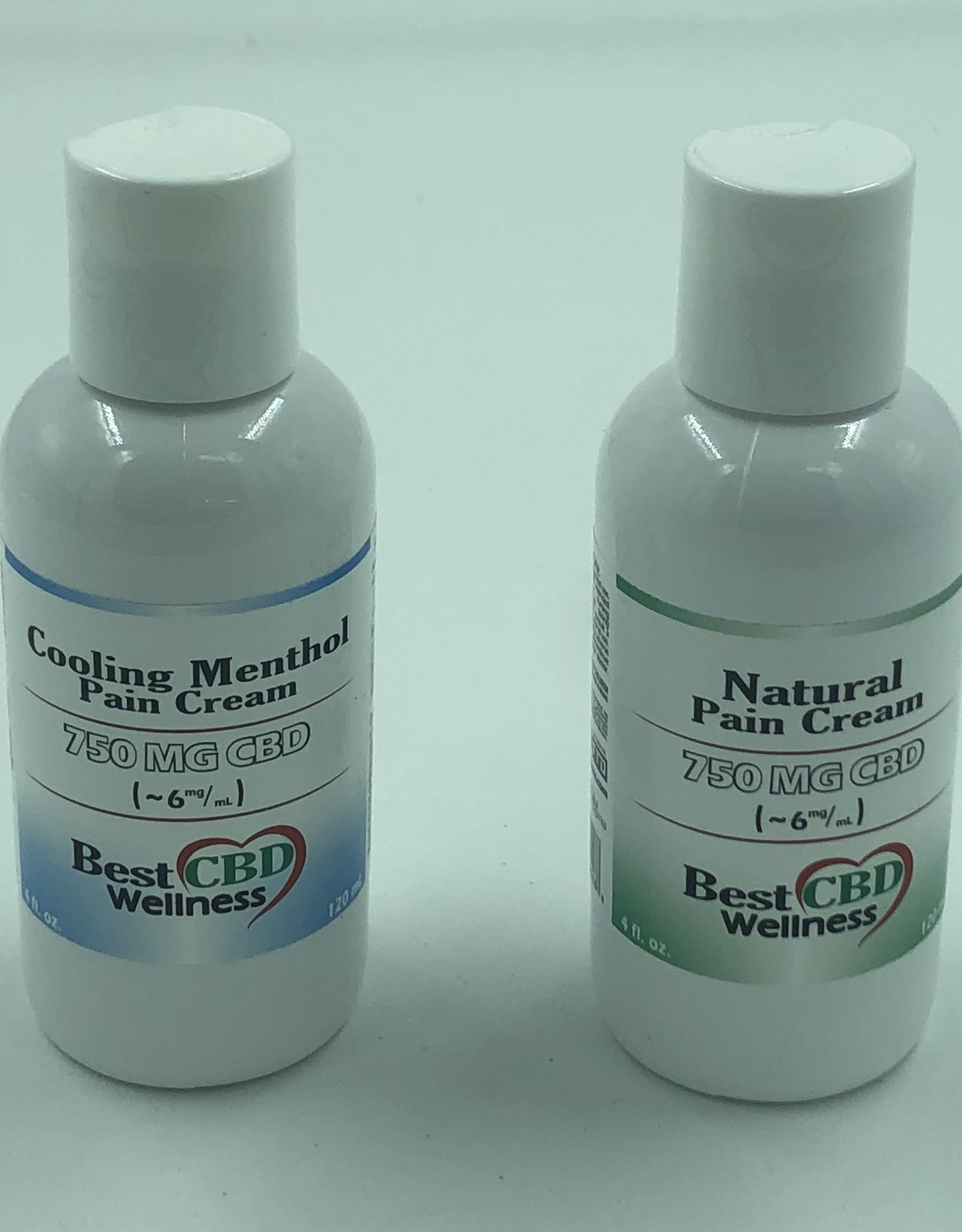 Best CBD Wellness Isolate CBD Menthol Pain Cream 750mg 4oz
