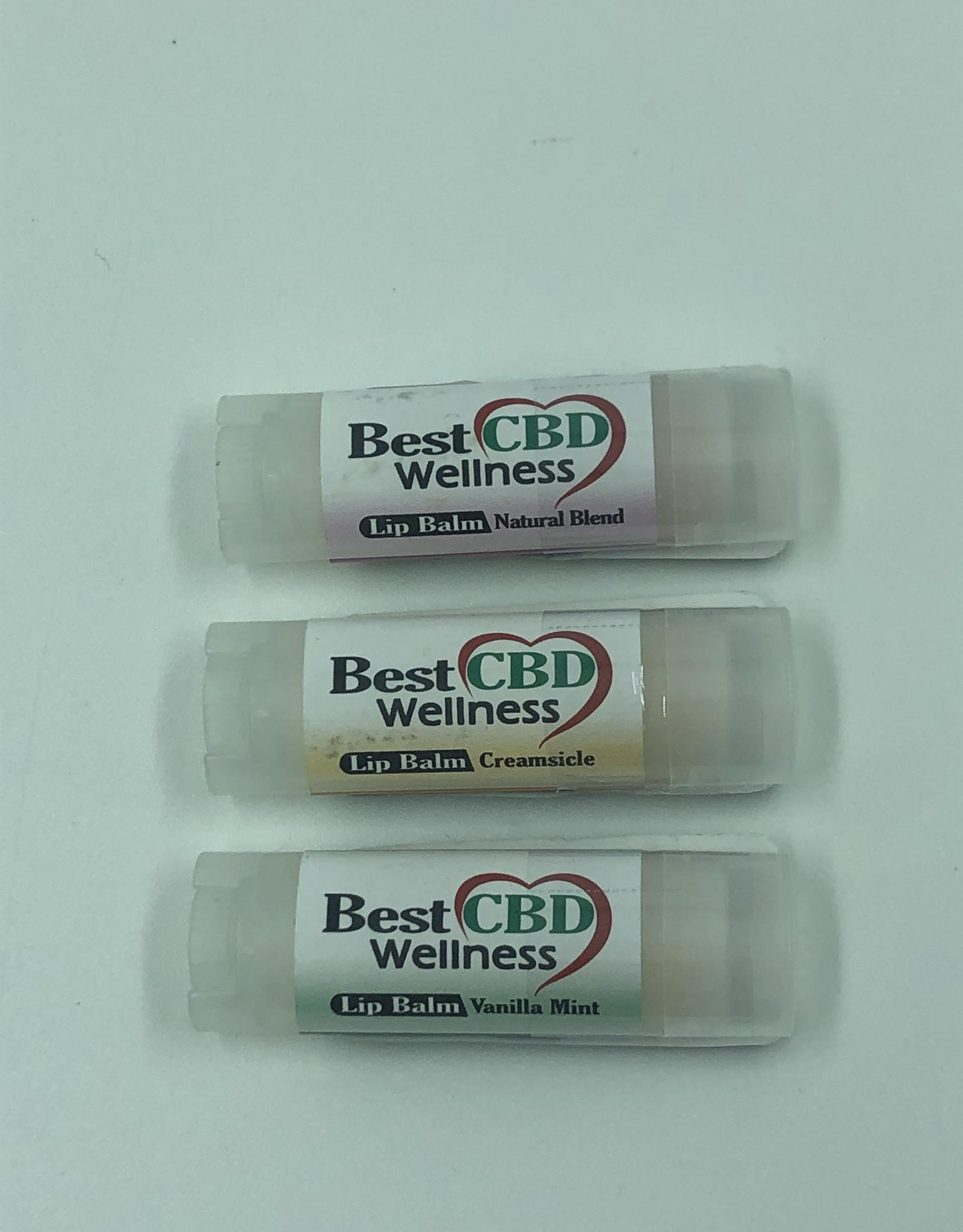 Best CBD Wellness Isolate CBD Natural Blend Lip Balm 50mg