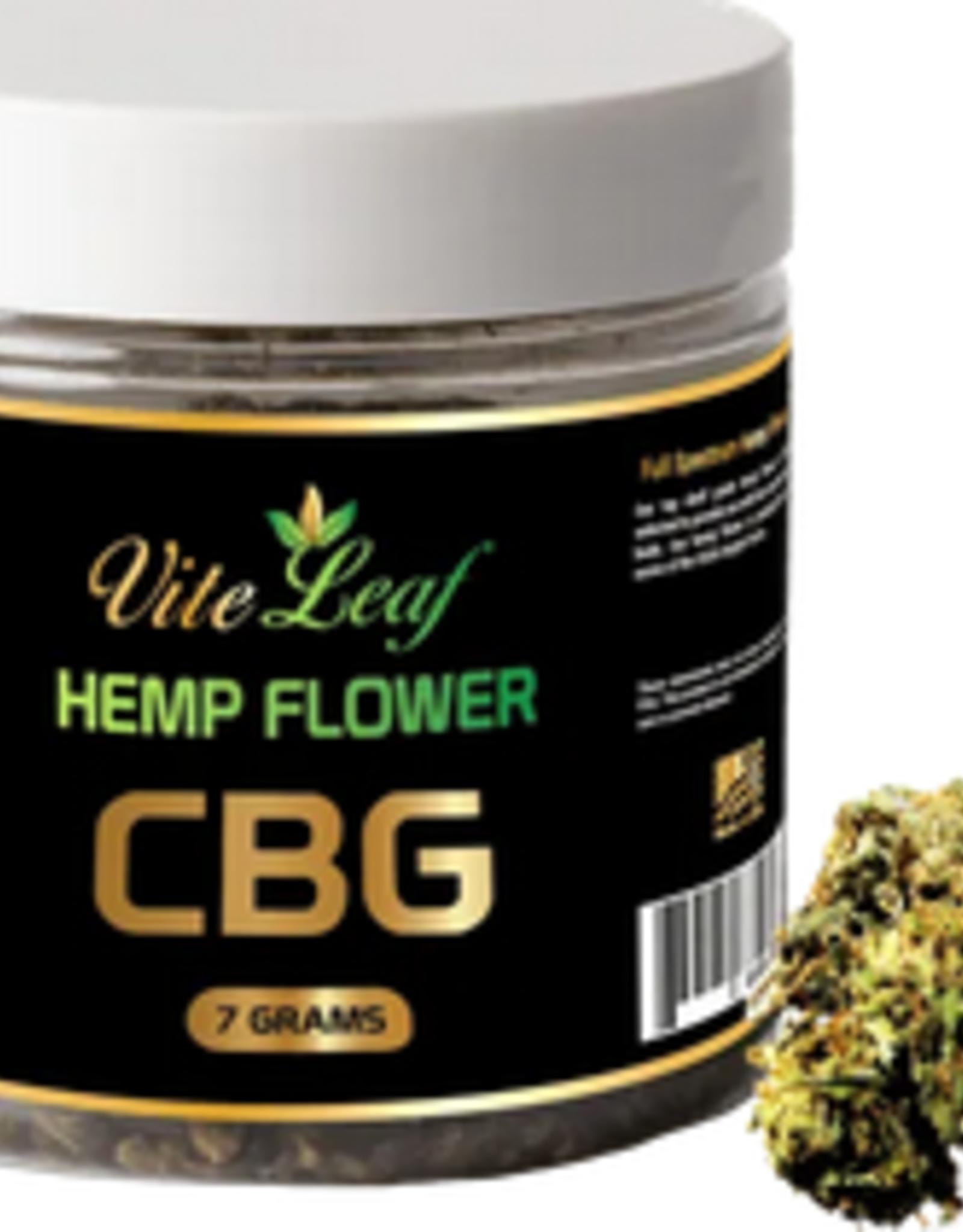 Vite Leaf CBG Hemp Flower 10-20% 7g .3% THC