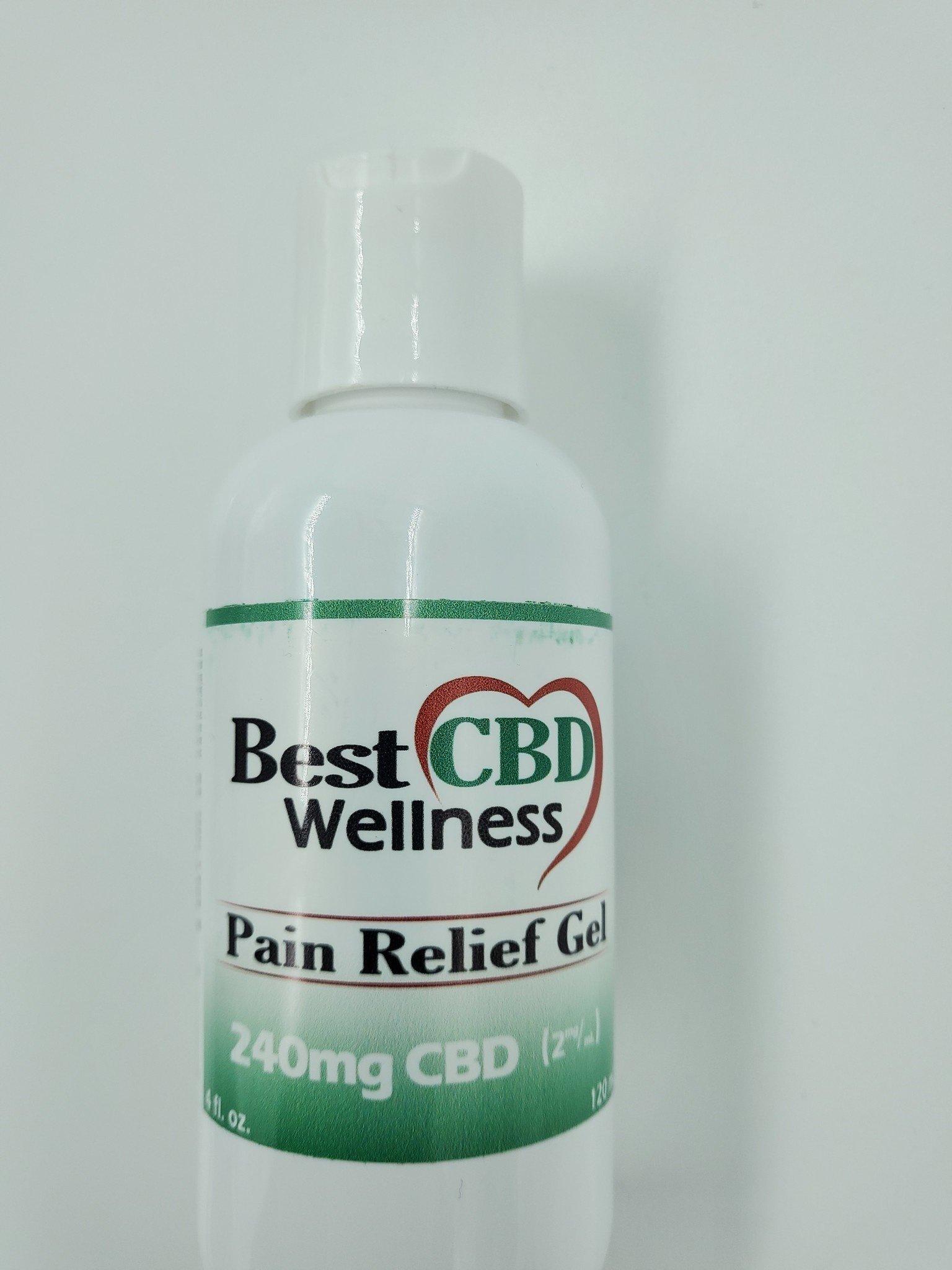 Best CBD  Pain Relief GEL Topical