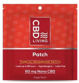 CBD Living Broad Spectrum CBD Topical Patch 60mg