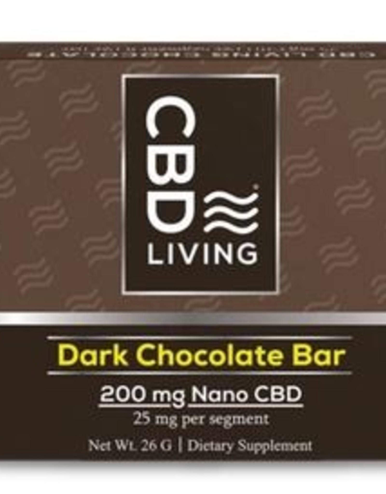 CBD Living Broad Spectrum CBD Dark Chocolate 200mg