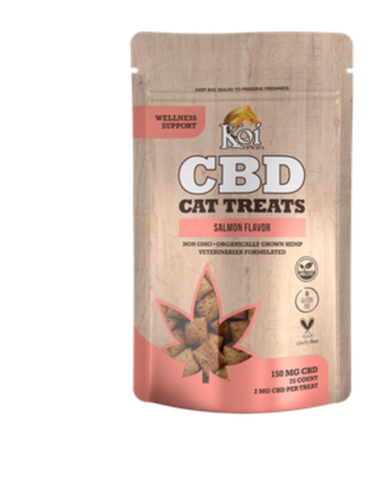 Koi CBD Cat Treats 150mg 75ct/Bag, Salmon Flavor