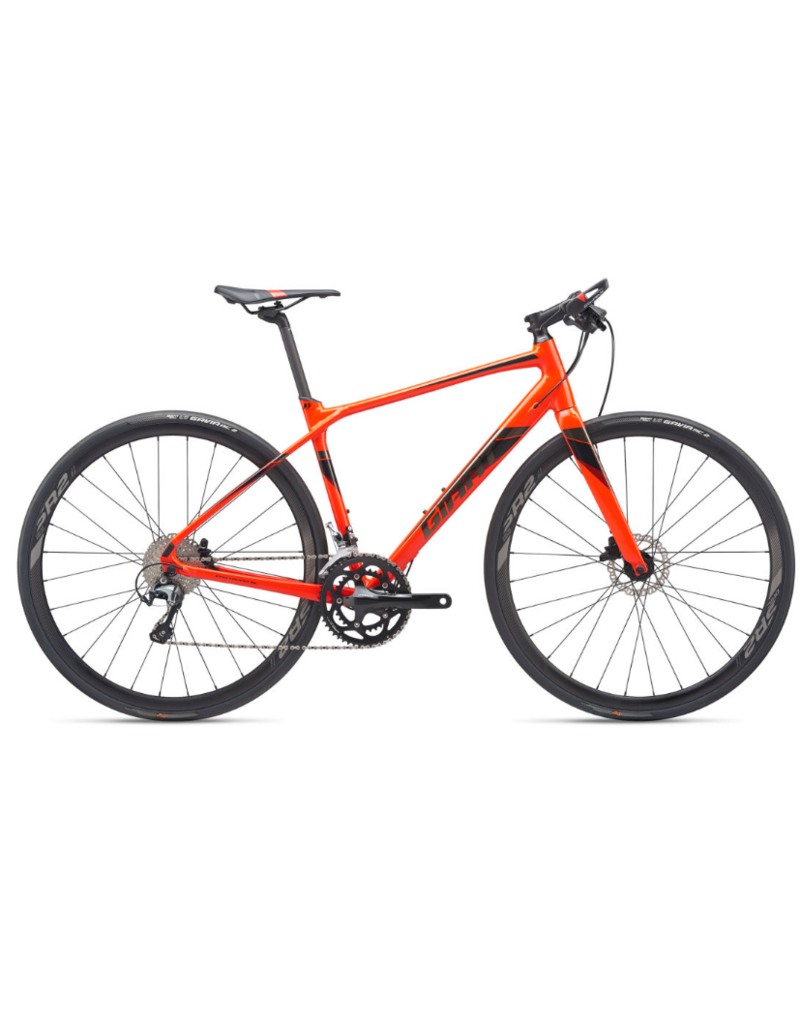 Giant FastRoad SL 1 M Neon Red/Black Chrome