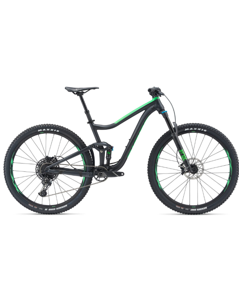 Giant Trance 29er 2 S Metallic Black/Flash Green