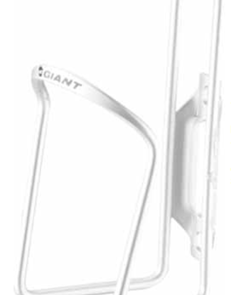Giant GNT Gateway Classic aluminum bottle cage white