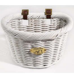 Nantucket Basket Nantucket Cruiser D-Shape White
