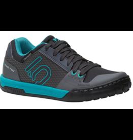 Five Ten Five Ten Freerider Contact Women's Flat Shoe: Shock Green/Onix 9