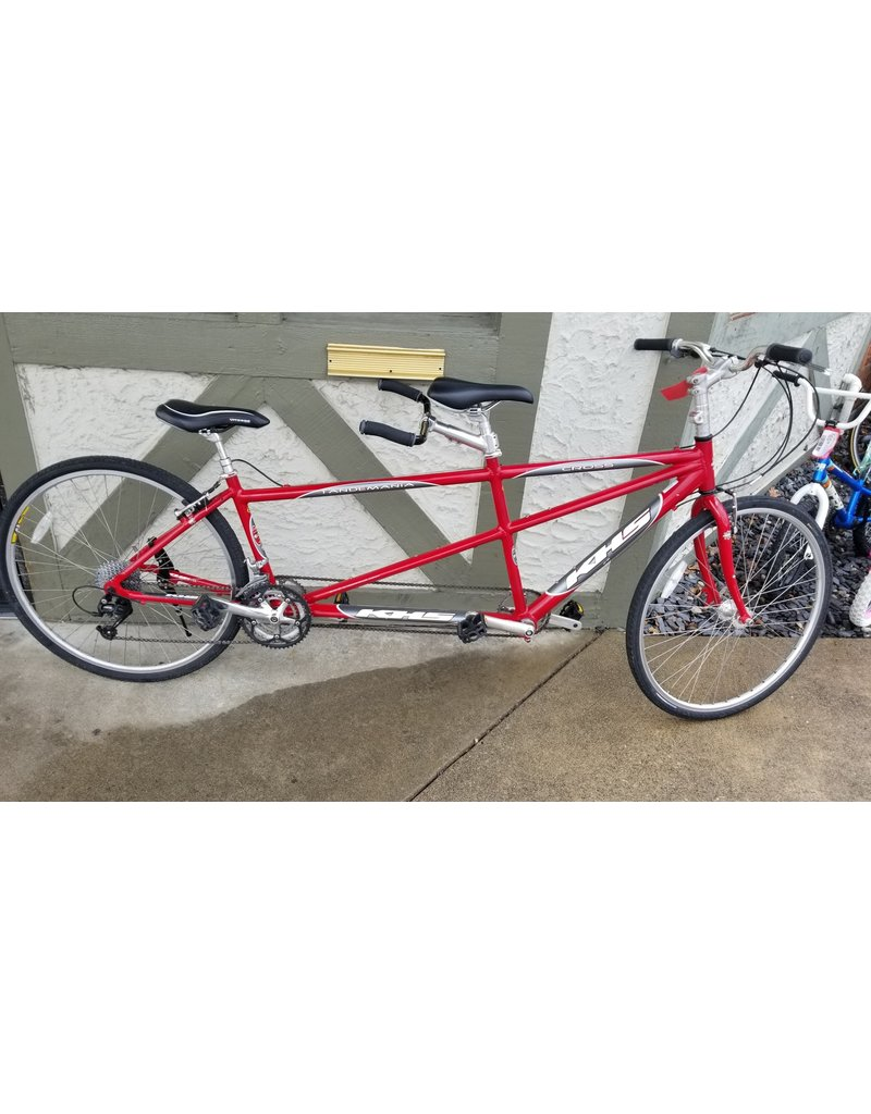 KHS Pre Owned- Tandemania Cross Tandem (Red/Silver)