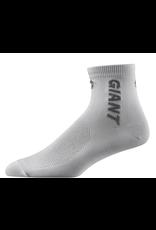 Giant GNT Ally Quarter Socks LG White