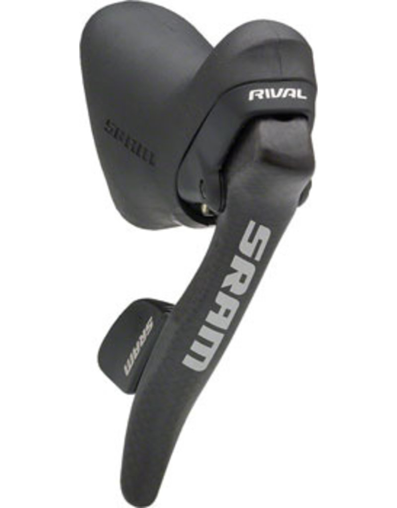SRAM SRAM Rival 10-Speed DoubleTap Right Shift/Brake Lever, Carbon Fiber Lever Blade