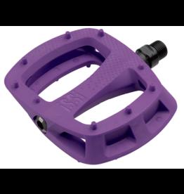 "iSSi iSSi Thump Pedals - Platform, Composite, 9/16"", Purple"