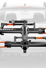 KUAT INNOVATIONS KUAT NV 2.0, 2in Hitch ,2-BIKE - Gray Metallic/Orange