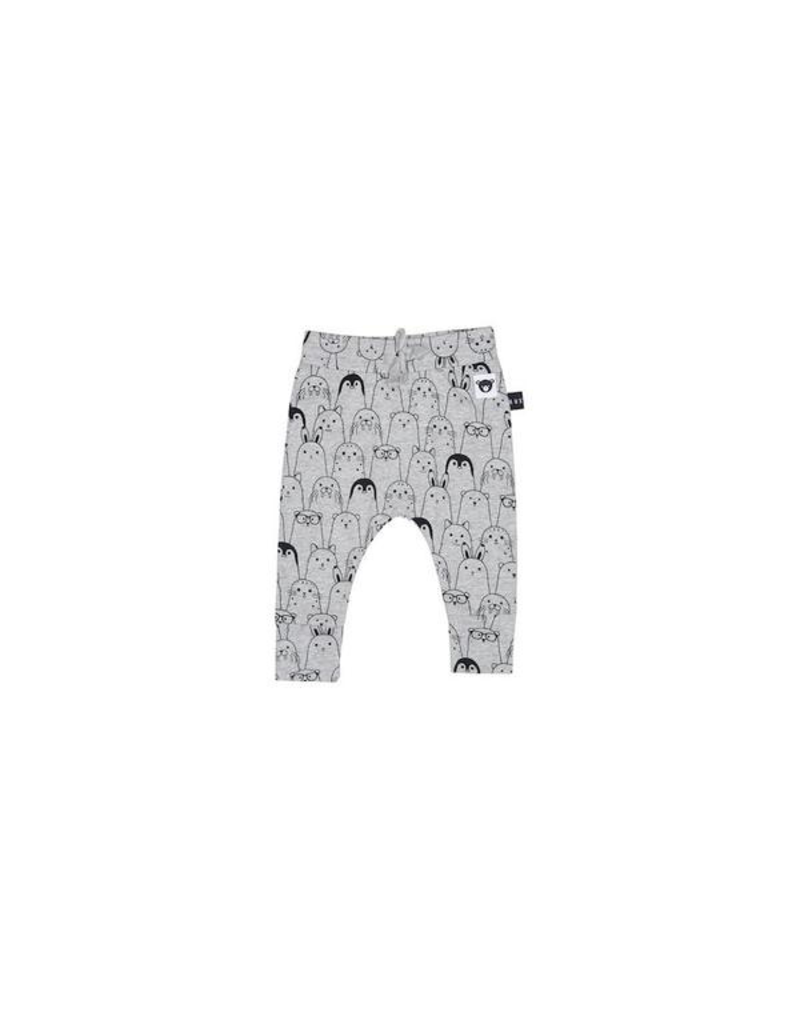 HuxBaby Artic Party drop crotch Pant