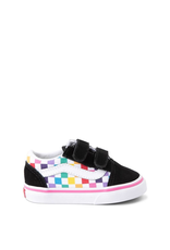 Vans Toddler Old Skool V Checkerboard