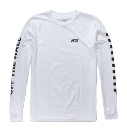 Vans Youth Boys Left Check Long Sleeve T-Shirt
