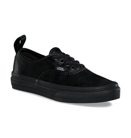 Vans K Authentic Elastic Lace- Satin- Black/Black