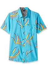 Boys Motel Floral S/S Button Up Shirt