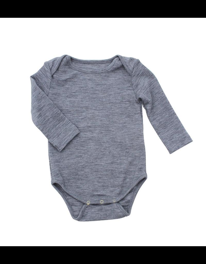 Nui Nui Organics, Infant Organic Merino Thermal Bodysuit