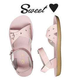 Saltwater Salt Water Sandals, Sweetheart Youth