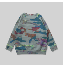 Munster Kids Liquid Camo Fleece Crew Sweatshirt