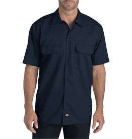Dickies Short Sleeve Snap Twill Work Shirt