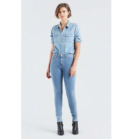 Levis Womens 721 Highrise Skinny Denim