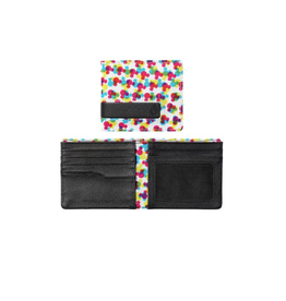 Nixon, Showoff Print Bi-Fold Wallet
