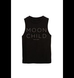 Spiritual Gangster Spiritual Gansgter, Kids, Moon Child Muscle Tank