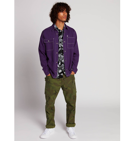 Volcom, Mens Fitzkrieg Long Sleeve Button Up Shirt