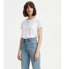 Levis Womens Perfect Pocket crew T-Shirt 18672-0037