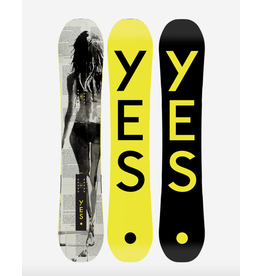 YES Yes, Typo Snowboard