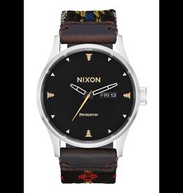 Nixon, Sentury Leather Watch